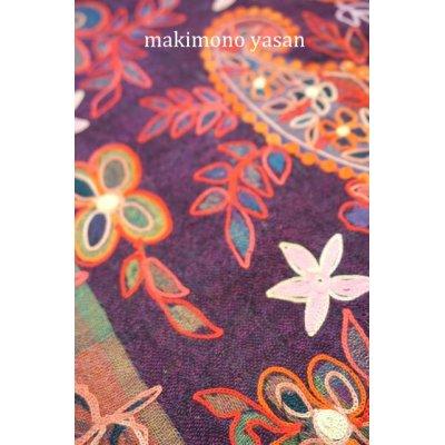 画像3: デザイン刺繍マフラー