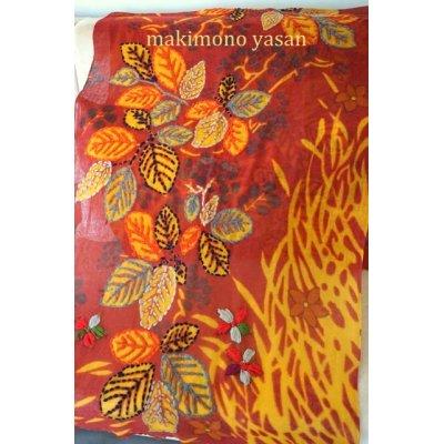 画像2: タイダイ風 刺繍ストール